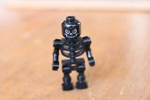 LEGO 1x Minifig Mini Figure Black Skeleton Ninjago Excellent condition