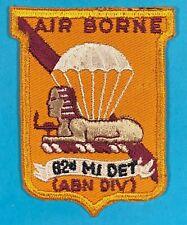 1960s, 82nd Ab Div. Military Intelligence Detachment, Et, Excellent Cond.,#7