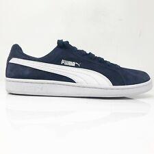 Puma Mens Smash V2 370205 02 Navy Blue White Running Shoes Lace Up Size 12