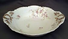 Haviland Round Vegetable - Pink Wild Roses/Blue Flowers S38