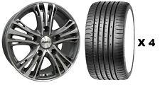 """18 """" GMF Odyssey Alufelgen + Reifen passend für Ford Transit nach Maß Sport"""