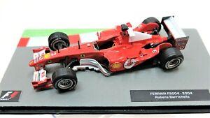 Ferrari F2004 Baricchello Formule 1 F1 1/43 Gp miniature voiture diecast IXO