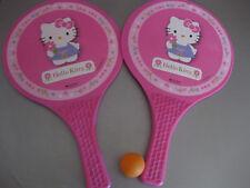Hello Kitty ballschläger Tennis Beachball été PLAGE JOUET BALLE l37cm