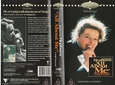 KATHARINE HEPBURN: ALL ABOUT ME. A SELF PORTRAIT  AS NEW RARE  PAL VHS VIDEO
