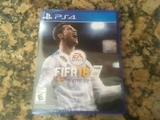FIFA 18 (Sony PlayStation 4, 2017)BRAND NEW! FACTORY SEALED! FREE SHIPPING!