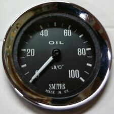 Smiths Classic Mechanical Oil Pressure Gauge - Race/Rally/Motorsport