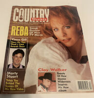 Vintage Country Weekly Magazine 1994 October 4 Reba McEntire Cover