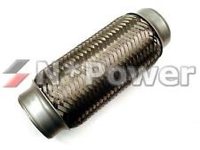 """2.25"""" Stainless Steel NPOWER Exhaust Flexible Pipe 20CM LENGTH"""