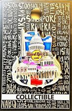 Hard Rock Cafe Washington DC Pin Core City Icon 3D Series 2017 New LE # 95198
