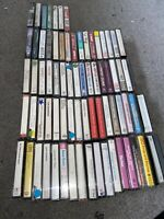 Cassette Tape Bundle/joblot - Country, Pop, Jazz, Rock
