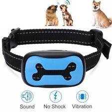 No Shock Dog Puppy Anti Barking Collar Pet Training Waterproof Sound Vibration
