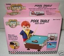 #4446 NIB Vintage TYCO Dixie's Diner Pool Table with Mitch Figure