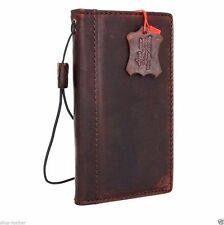 genuine vintage leather for LG Nexus 5 Case book wallet handmade slim cover thin