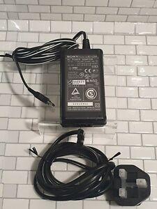 GENUINE SONY AC-L15A AC UK POWER ADAPTOR