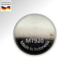 PANASONIC MT 920 Kondensator Batterie 1.5V GC920 N923 Citizen Eco Drive Uhren DC