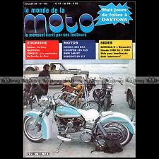 LE MONDE DE LA MOTO N°103 HONDA 250 RS A XLS CBX 1000 PEUGEOT SX 8T DAYTONA 1983