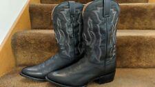 Hardly worn Dan Post men's black/gray western cowboy boots 10 D