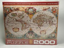 EuroGraphics Antique Map of the World Jigsaw Puzzle (2000-Piece)
