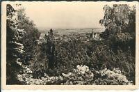 Ansichtskarte Blick vom Hutberg auf Kamenz - Azaleen-Anlagen - schwarz/weiß