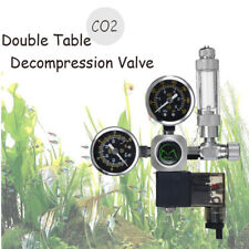 220V Aquarium CO2 Regulator Check Valve Bubble Counter Magnetic Solenoid Valve