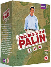 THE COMPLETE MICHAEL PALIN TRAVELS COLLECTION DVD UK Release NEW Sealed R2