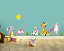 MY LITTLE PONY VINYL WALL STICKER ANIMAL VINYL KIDS CHILD BABY BEDROOM DECOR UK