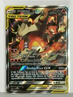Reshiram & Charizard GX TagTeam ALTERNATE FULL ART SM201 Unbroken Bon Pokemon NM