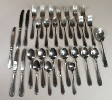 New listing Cambridge Evanston stainless Flatware Outline Edge Glossy 30 Pcs China