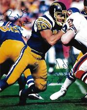 Dennis McKnight San Diego Chargers NFL Football signed 8x10 photo proof w/COA