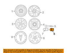 Pontiac GM OEM 03-10 Vibe Wheel-Lug Nut 88972746