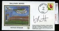 George Brett Signed Jsa Certed 1991 Fdc Autograph Authentic