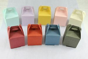 """2"""" Take out Gable Favor Boxes, Wedding Baby Shower Party Treat Candy Gift"""