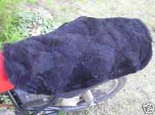 n Motorcycle Seat Cover Genuine Aust. Sheepskin Dual Seat Patch. Good Wool Store
