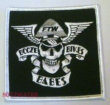 FTW Booze Bikes and Babes Biker  Patch