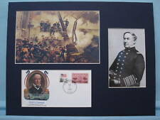 """""""Damn the Torpedoes!"""" - David Farragut at Mobile Bay & commerative envelope"""