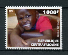 Central African Republic 2017 MNH Children's Day of Child 1v Set Stamps