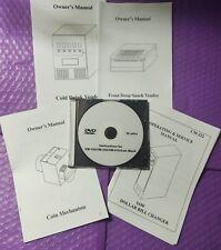 Dundas Dvd or Manuals of Vm-010, Vm-150, Vm-151, Vm-250, Vm-251 Vending Machines