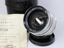 Vintage Grand Prix Brussels 1958 Mir-1 2.8/37mm M39 lens SLR DSLR wide-angle