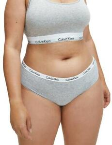 Calvin Klein Carousel Plus Size Brief 000QD3801E Multipack Knickers 3 Pack