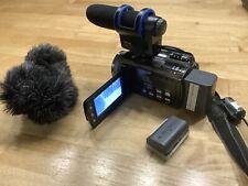 JVC camcorder everio Video Kamera +Zubehörpaket Hähnel MK 100 2 Stk Akkus