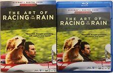 THE ART OF RACING IN THE RAIN BLU RAY + SLIPCOVER SLEEVE FREE WORLD WDIE SHIPPIN
