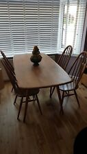Ercol Dining Room Table and Four Ercol Chairs