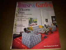 Vintage HOUSE & GARDEN Magazine, September, 1963, SWISS COOK BOOK, MID-CENTURY!