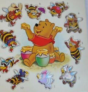Disney's Pooh's Honey Bee Counting Book 1996 Children's Hardcover