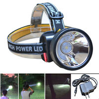 2000LM Waterproof Rechargeable LED Headlamp Headlight Torch Lamp+Battery+Charger