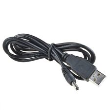 USB DC Charging Charger Cable Cord For Pandigital Novel R7T40WWHF1 White Tablet