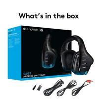 Logitech G933 Limited Edition Black Headband Headsets for Multi-Platform