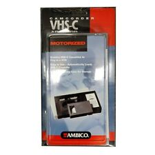AMBICO Motorized Adapter VHSC Tape Converter Play to VHS VCR Player 088314007311