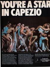 """1979 """"You're A Star In Capezio"""" Capezio Dancewear  Vintage Print Advertisement"""
