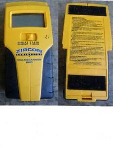 ZIRCON CONTRACTORS MULTISCANNER PRO -- stud, metal and ac scan